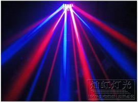 2颗10w进口科瑞四合一灯珠双层蝴蝶灯 LED无极剑 专业舞台灯光 **吧效果灯 ktv包房灯光
