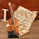 廠家直供新款樂器玩具 兒童音樂小提琴 迷你可拉模擬木製小提琴