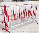 安全围栏生产销售片状管状伸缩围栏