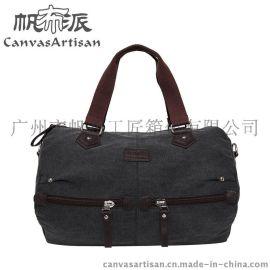 厂家直销 帆布派 韩版女士单肩斜挎包 休闲旅游包帆布包 T01-3