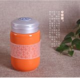 華晨陶瓷供應陶瓷杯養生杯菸灰缸定制禮品陶瓷