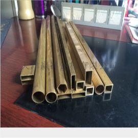 专营铜管 厚壁黄铜管 大小口径铜管 非标铜管加工