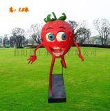 玻璃钢雕塑仿真卡通雕塑小鸭子草莓精灵雕塑树脂摆件