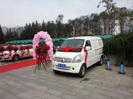 批发代理成都地区电动面包车 新能源电动物流车QXXYSZB