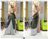 广州品牌折扣批发双面羊绒大衣外贸女装货源