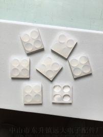 厂家直销半透明硅胶垫,塑胶底座防滑垫片