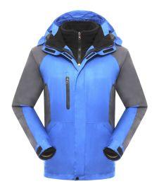 文化衫广告衫团体服T恤定制高档两件套加绒冲锋衣BMY 903