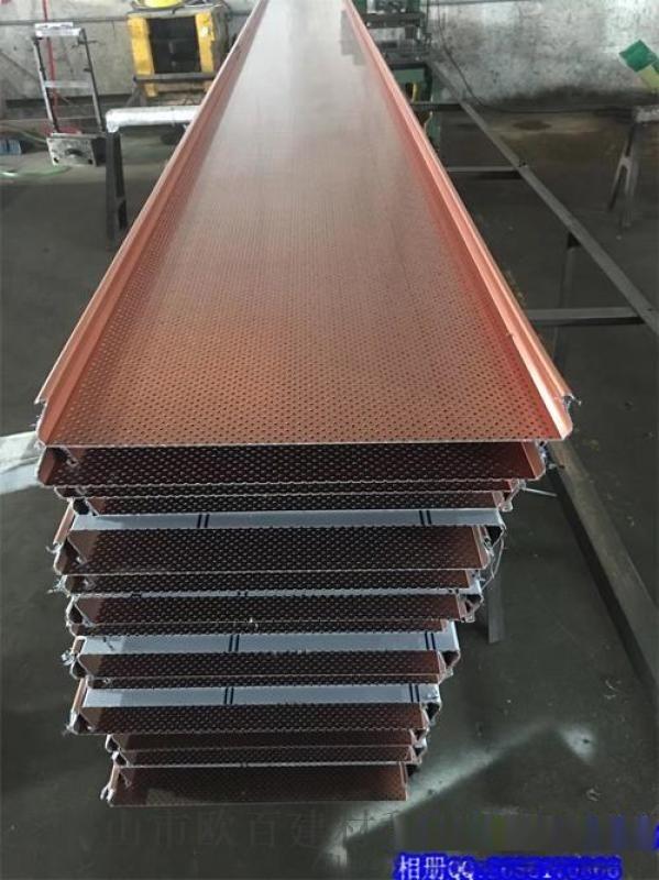 专业生产各种规格铝条扣天花 条形板吊顶