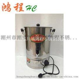 不锈钢电热保温杯 带龙头 开水桶加热盘 加热水桶防干烧 厂家批发