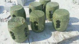 天然玉石圆凳玉石方凳