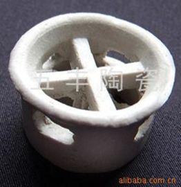 专业生产陶瓷阶梯环 瓷环 陶瓷填料
