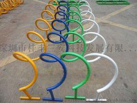 都在问路边放自行车电动车的架子叫什么
