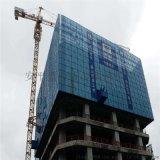 铝板高空建筑施工安全爬架网@米字框架洞洞板爬架网