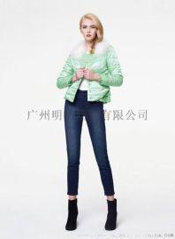高端羽絨服品牌折扣女裝哪家好就到廣州明浩