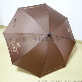 供应中山广州双铁骨高尔夫大伞晴雨男式商务伞