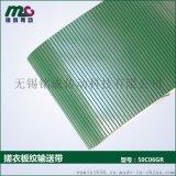 Minsen工業皮帶供應環帶pvc搓衣板紋高摩擦輸送皮帶-銘成傳動