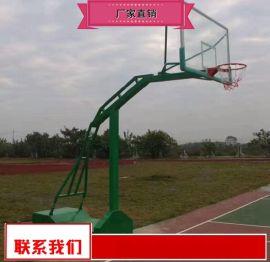 平箱篮球架生产商 运动器材篮球架优惠销售