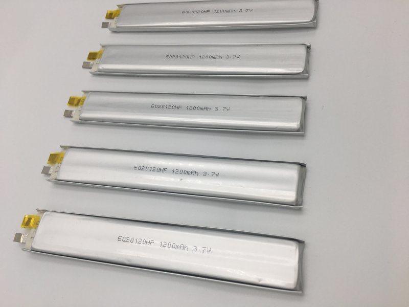 6020120-1200mah华瑞隆聚合物锂电池
