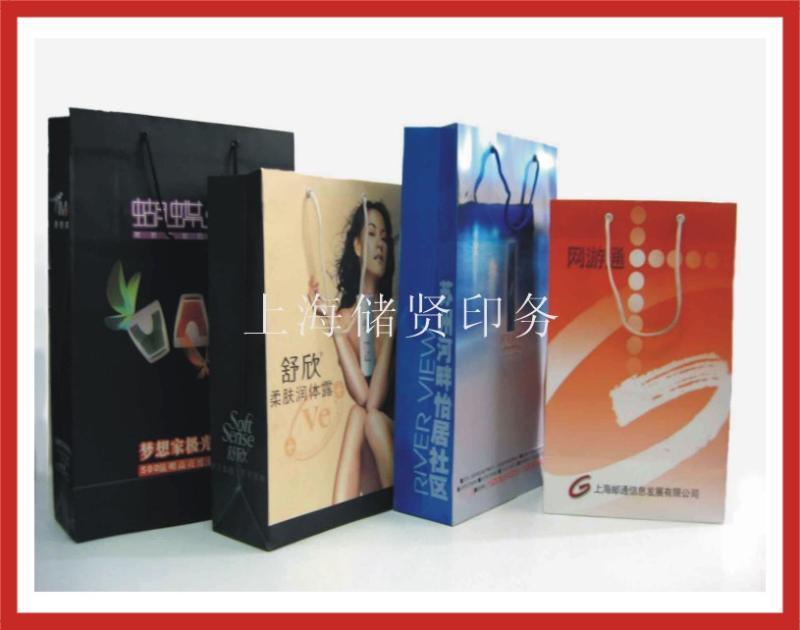 手提袋印刷上海纸袋拎袋印刷厂