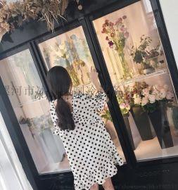 河南郑州市鲜花保鲜柜花店鲜花冰柜鲜花展示柜双门三门