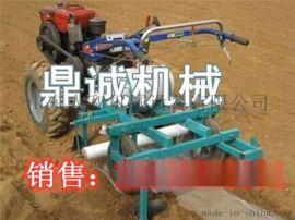 人和一米宽幅喷药覆膜机马铃薯棉花地膜覆盖机经济实用