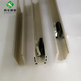 佛山尚步梯业 厂家定制生产 铝合金U槽 铝合金护栏