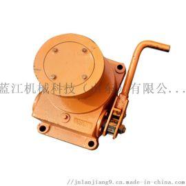 120型蜗轮卷筒 手动蜗轮张紧器 皮带拉紧器