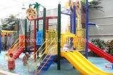 大中型水上兒童樂園設備-水屋水寨-戲水小品
