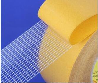 强力纤维网格双面胶 超粘网格纤维双面胶