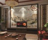 佛山陶瓷背景牆廠家個性定製彩虹石品牌中式客廳電視背景牆 沙發背景牆瓷磚壁畫 赤壁懷古瓷磚背景牆