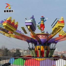 童星游乐设备 弹跳机新型大型游乐设备厂家