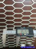 武威网格铝单板 穿孔铝网格板 铝合金网格吊顶