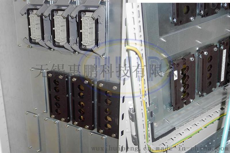 尼龙材质穿墙版 固定线缆系统 防护等级IP54