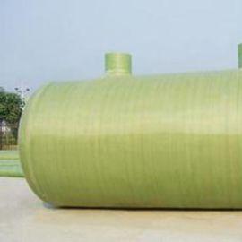 一体化污水处理玻璃钢化粪池 大型化粪池拼装