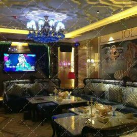 酒店ktv沙发夜场家具全屋装修卡座设计
