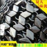 天津TW高密锻方块保护链60铲车26.5-25规格