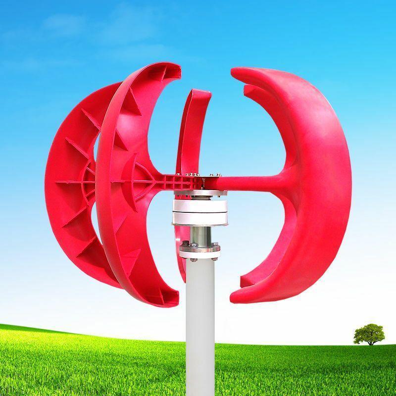 微型红灯笼景观风力发电机公园景区安装小型风力发电机