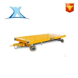 叉车拖车 牵引车 平板车 无动力车轻小型设备搬运