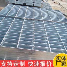 热镀锌钢格栅 大同水库热镀锌拦污网格板 楼梯踏步钢格板厂家