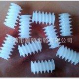 塑胶蜗杆 双头蜗杆 左旋蜗杆 尼龙蜗杆 POM塑料蜗杆