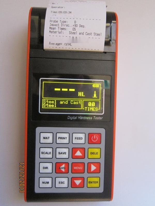 NDT290带打印铝材硬度计,硬度测试仪