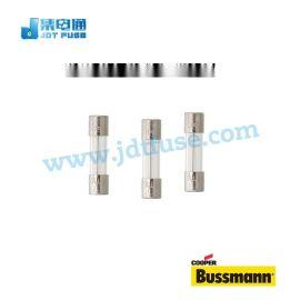 BUSSMANN玻璃管保險絲5*20MM 250V 0.2A 保險絲管S506-200-R慢斷