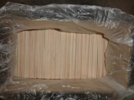 5.0*180MM桦木圆棒 食品棒 食品签