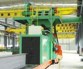 供应东莞辊道式钢板表面处理抛丸设备钢结构抛丸机