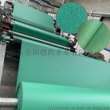 工厂直销 日本绿色麻面pvc涂塑布 防水涂塑帆布