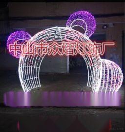 2019新款造型燈 燈帶造型燈 圓二線燈畫