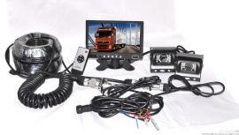 大巴客車車載7寸監控系統配套,2-4路畫面攝像頭監控錄像