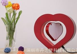 磁悬浮心形相框   朋友同学生日礼物 男友女友创意礼品  低价格