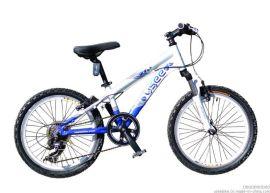 优适儿童自行车 天使系列铝合金20寸男童山地车