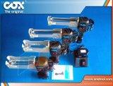 雙組份電動膠槍使用兩個不同比率的膠管組成雙組份雙聯膠筒/電動雙組壓膠槍